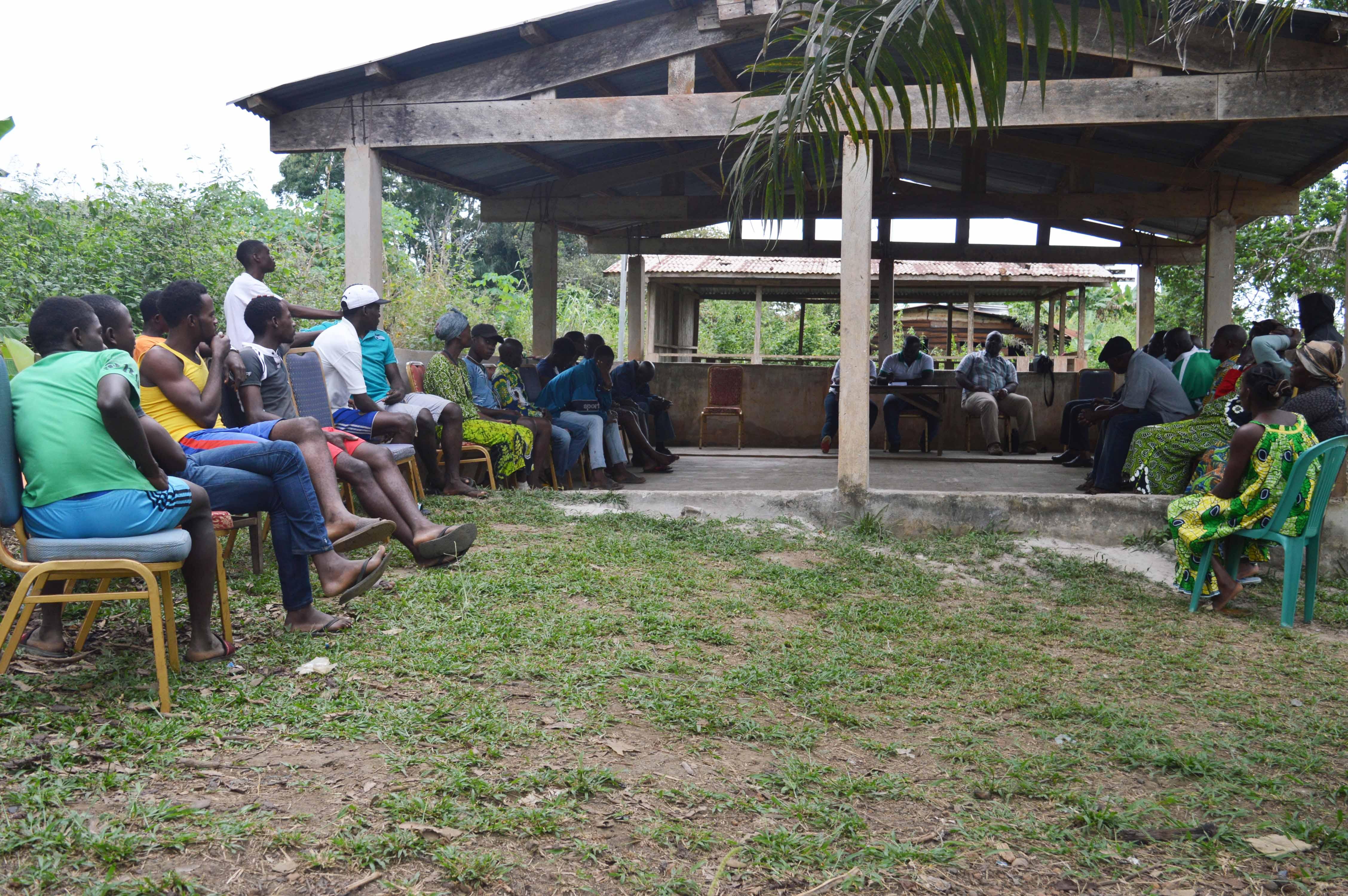 mission de terrain:rencontre communautés locales